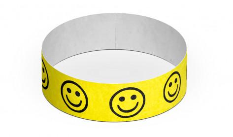 Party-Armbänder / Kontrollarmbänder TYSTAR - SMILEY