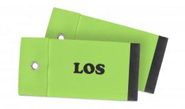 grünes Standard Tombola-Los Verschluss mit Öse