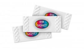 gestaltbare Brieflose - individuell bedruckt mit Logo
