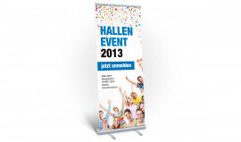 Rollups / Bannner / Messeplakat für Tombolas, Events und Feste