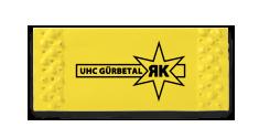 Brief-Lose individuell gestaltet, mit schwarzem Aufdruck, auf gelbes Papier